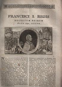 I. Ferenc magyar király (1768-1835)