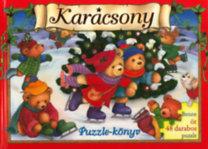 Lee Krutop: Karácsony - Puzzle-könyv - Benne öt 48 darabos puzzle