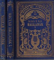 Magyar balladák könyve I-II. (Irodalmi kincstár III-IV., gyémántkiadás)