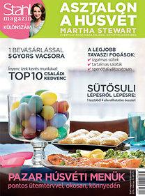 Stahl magazin különszám - Asztalon a húsvét