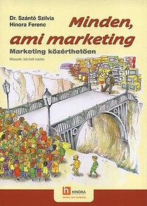 dr. Szántó Szilvia; Hinora Ferenc: Minden, ami marketing - Marketing közérthetően - Marketing közérthetően