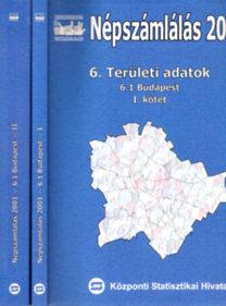 Népszámlálás 2001. 6/1-2. (Területi adatok: Budapest)