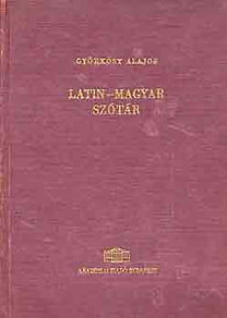 Györkösy Alajos: Latin-magyar szótár
