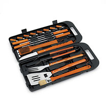 Landmann: Grillkészlet 18db-os kofferben inox