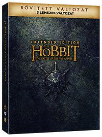 A hobbit: Az öt sereg csatája - 5 Lemezes Bővített Kiadás - DVD