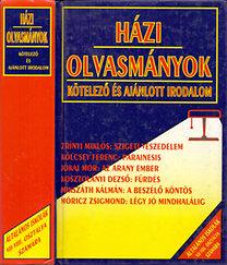 Összeállította: Forgács Anna-Osztovits Szabolcs: Házi olvasmányok - Kötelező és ajánlott irodalom (Irodalmi szöveggyűjtemény az általános iskolák VII-VIII. osztályos tanulói számára)