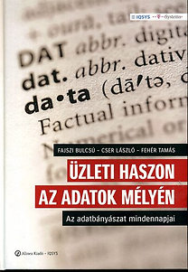 Fajszi Bulcsú; Cser László; Fehér Tamás: Üzleti haszon az adatok mélyén - Az adatbányászat mindennapjai
