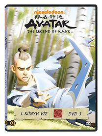 Avatar: Aang legendája I. könyv: Víz DVD 3