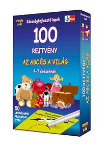 100 rejtvény - Az abc és a világ - 4-7 éveseknek