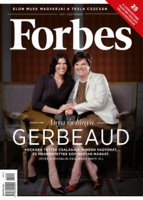 Forbes Magazin - 2017. szeptember - Gerbeaud
