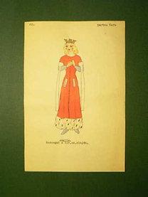 Pártos Vera: Anglia. Hercegnő a XIV.sz.elején.