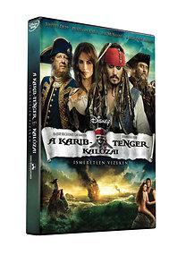 A Karib-tenger kalózai: Ismeretlen vizeken - DVD