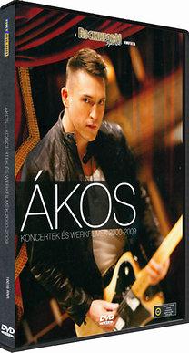 Ákos - Koncertek és werkfilmek 2000-2009. - DVD