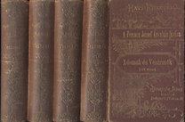 Dvorzsák János: Adomák és veszemék (Havi füzetek I-XVII. füzet)- négy kötetbe kötve