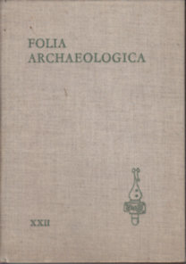 Fülep Ferenc (szerk.): Folia archaeologica XXII.
