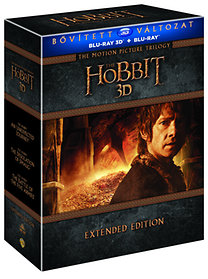 A Hobbit Trilógia - Bővített Kiadás - 3D Blu-ray