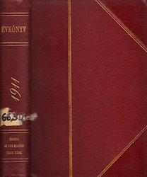 Bánóczi József (szerk.): Izraelita Magyar Irodalmi Társulat (IMIT) évkönyv 1911.