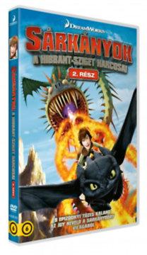 Sárkányok - A Hibbant-sziget harcosai - 2. rész - 2 DVD