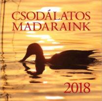 Csodálatos Madaraink naptár 2018