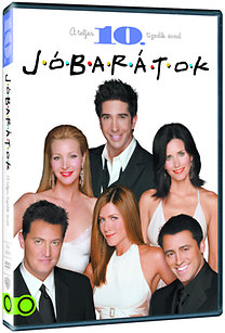 Jóbarátok - A teljes tizedik évad (3 DVD)