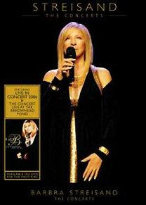 Barbra Streisand: The Concerts DVD