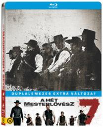 A hét mesterlövész - duplalemezes extra változat - Steelbook - Blu-ray