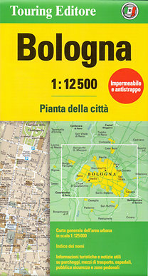 TCI: Bologna várostérkép 1:12 500