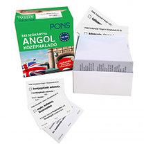 PONS - 333 szókártya - Angol középhaladó A2-B1