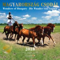 Magyarország Csodái 2018 - Naptár - Woders of Hungary / Die Wunder von Ungarn