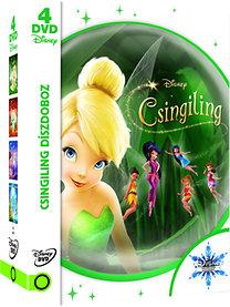 Csingiling 1-4 díszdoboz (2014) - DVD