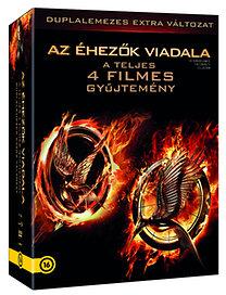 Az Éhezők Viadala 1-4 - 8 DVD
