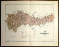 Gönczy: Pallas: Kolozs Vármegye térképe.
