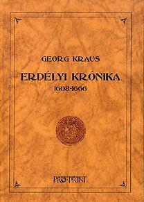 Georg Kraus: Erdélyi krónika 1608-1666