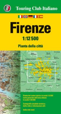 TCI: Firenze  várostérkép 1:12.500 - 2017