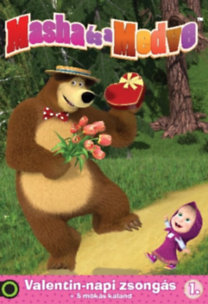 Masha és a Medve - Valentin-napi zsongás 1. + 5 mókás kaland - DVD
