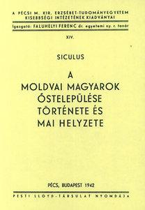 Darkó Jenő: A moldvai magyarok őstelepülése, története és mai helyzete
