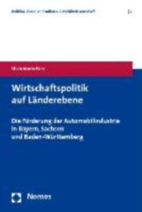 Eder, Silvia Maria: Wirtschaftspolitik auf Länderebene