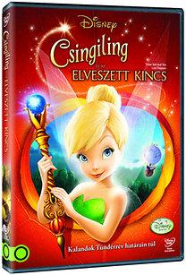 Csingiling és az elveszett kincs DVD + törölköző