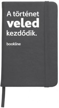 Bookline notesz - A történet veled kezdődik - fekete