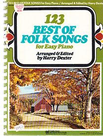 Harry Dexter: 123 Best of Folk Songs