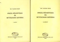 Tuzson Tibor Dr.: Angol rövidítések és betűszavak szótára I-II.