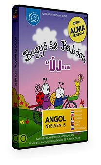 Bogyó és Babóca 2. - 13 új mese - DVD - Bartos Erika meséi alapján