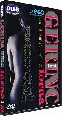 Gerinc mobilizáló és erősítő torna - Kezdő – DVD