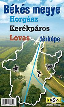 Térkép Kft.: Békés megye horgász, kerékpáros, lovas térképe