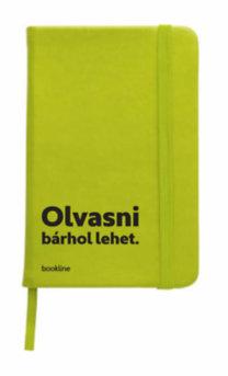 Bookline notesz - Olvasni bárhol lehet. - zöld