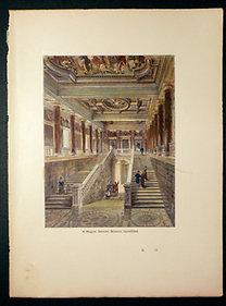 Morelli: A Magyar Nemzeti Múzeum lépcsőháza