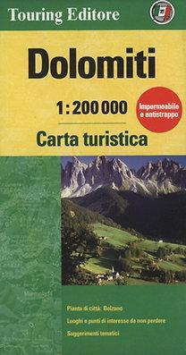 TCI: Dolomiti - Carta turistica