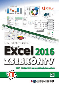 Bártfai Barnabás: Excel 2016 zsebkönyv