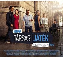 Filmzene, Válogatás: HBO: Társas játék (a II. évad dalai) - CD