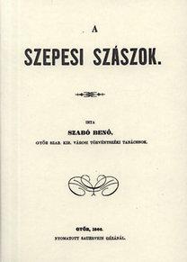 Szabó Benő: A szepesi szászok
